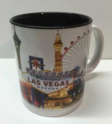 Las Vegas Hotels White Coffee Mug