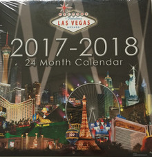 2017 2018 24 Month 2 Year Las Vegas Wall Calendar