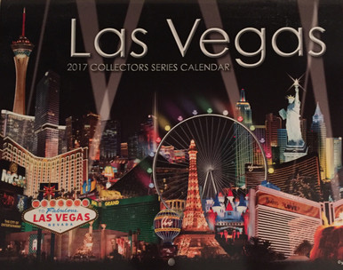 2017 13 Month Las Vegas Wall Calendar