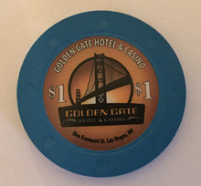 Golden Gate Hotel Las Vegas $1 Casino Chip