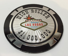 Las Vegas High Roller Chip Magnet