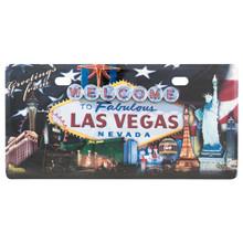 Greetings From Las Vegas License Plate