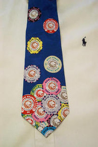 MGM Casino Chip Silk Neck Tie