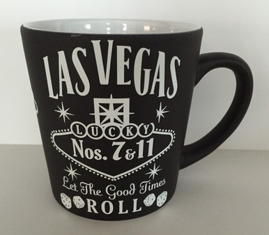 Las Vegas Black Lucky 7 Coffee Mug
