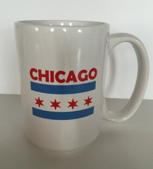 Chicago City Flag Coffee Mug