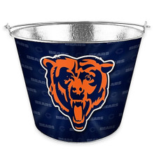 Chicago Bears Metal Beer Ice Bucket