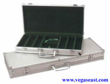 Aluminum Poker Chip Case 300 Chips