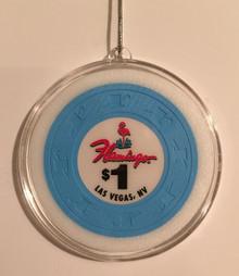 Flamingo Las Vegas Casino Chip Holiday Ornament