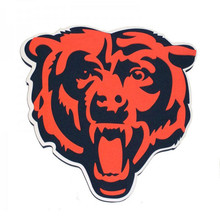 Chicago Bears NFL Football Foam Wall Hanging 3D Sign