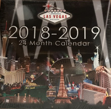 2018 2019 24 Month 2 Year Las Vegas Wall Calendar