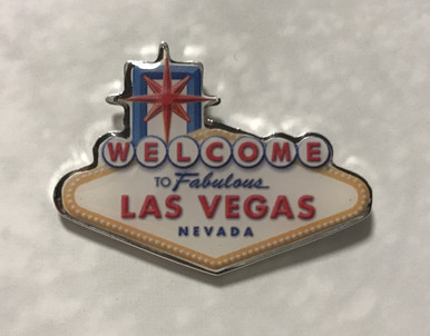 Welcome To Fabulous Las Vegas Sign Lapel Pin
