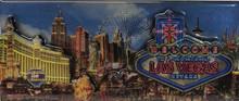 Las Vegas Sign Neon Foil Magnet