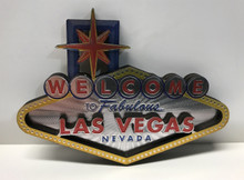 Welcome To Fabulous Las Vegas Sign 3D Magnet