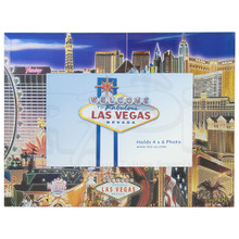Las Vegas Foiled Picture Frame Mirage