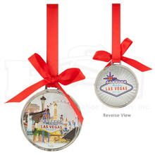 Las Vegas Foil Finish Hanging Ornament High Roller
