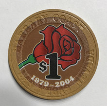Barbary Coast $1 25th Anniversary Casino Chip