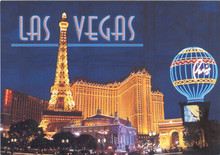 Paris Las Vegas Postcard