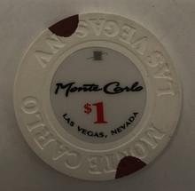 Monte Carlo $1 Casino Chip Las Vegas