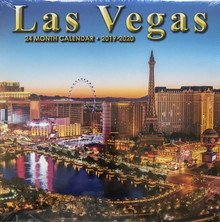 2019 2020 24 Month 2 Year Las Vegas Wall Calendar