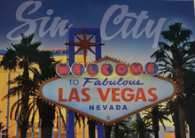 Welcome To Las Vegas Sign Postcard