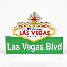 Las Vegas Boulevard Street Sign Magnet