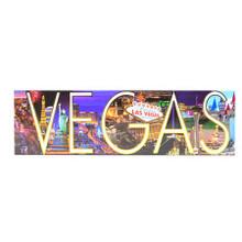 Las Vegas Panoramic Hotels Magnet