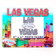 Las Vegas Hotels Color Picture Photo Frame
