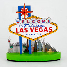 Welcome To Las Vegas Strip Replica Light Up Sign