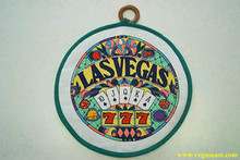 Las Vegas Royal Flush Slots Hot Pad Pot Holder