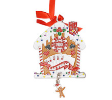Las Vegas Christmas Gingerbread House Ornament