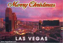 Las Vegas MGM Snowflake Boxed Christmas Cards