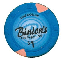 Binion's Las Vegas $1 Casino Chip