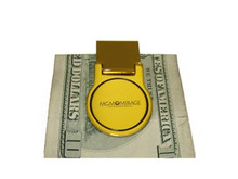 MGM Mirage Gold Tone Money Clip