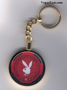 Playboy Casino Chip Key Chain