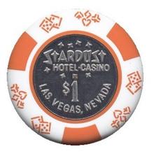 Stardust Las Vegas $1 Casino Chip J0703CC