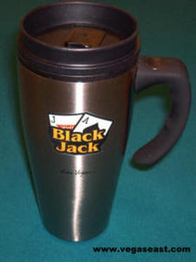 Black Jack Slots Travel Coffee Mug