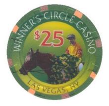 Winners Circle Las Vegas $25 Casino Chip
