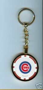 Chicago Cubs Chip Key Chain JCUBRKC