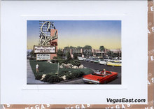 Sands Hotel and Casino Las Vegas Note Card