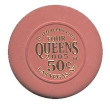 Four Queens Las Vegas .50 Cent Casino Chip