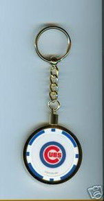 Chicago Cubs Chip Key Chain JCUBBKC