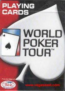WPT World Poker Tour Diamond Back Playing Cards J0982PC