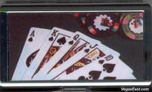 Royal Flush Poker Cigarette Card Case