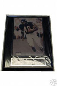 Chicago Bears Gale Sayers Wall Plaque