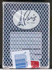 Paris Las Vegas Playing Cards