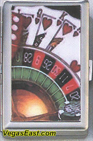 Casino Cigarette Card Case