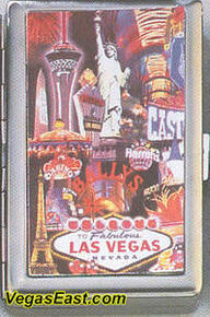 Las Vegas Cigarette Card Case