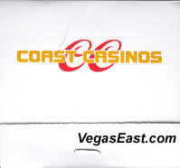 Coast Las Vegas Casino Match Book