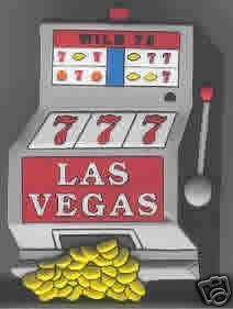 Las Vegas Slot Machine Magnet