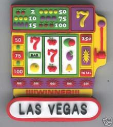 Las Vegas Slots Winner Magnet